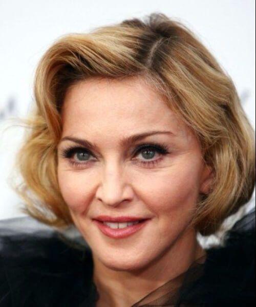 peinados madonna para mujeres mayores de 50 años