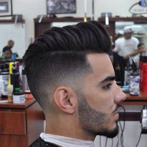 peinados suaves de la pompa para los hombres