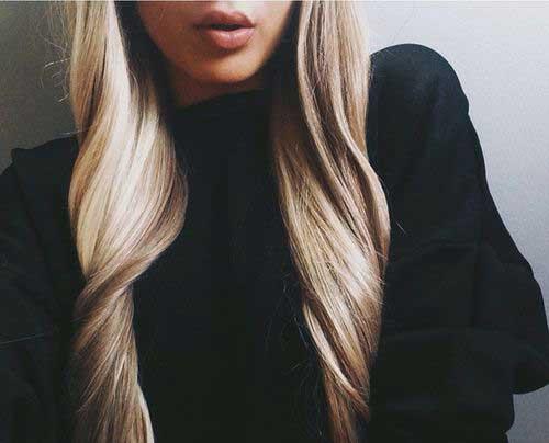 Largo cabello rubio oscuro-9