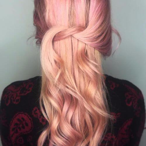 fresa balayage rubia