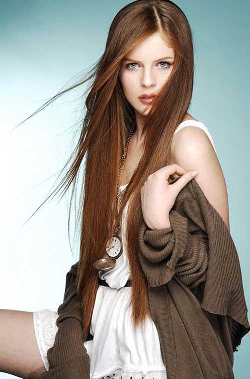 Peinados largos para mujeres