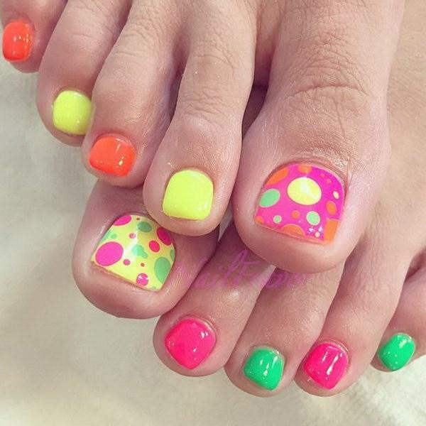 Más de 50 Ideas para el arte de uñas Pretty Toe » Largo Peinados