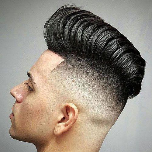 Peinados de pomp definidos grandes para hombres