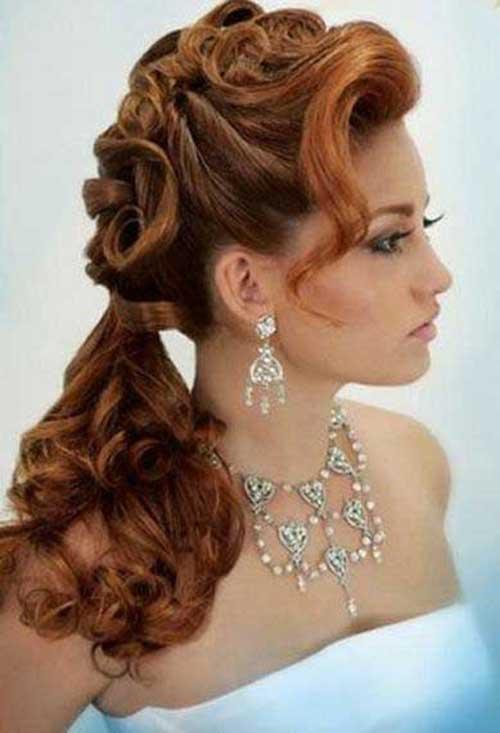Peinados de fiesta para el pelo rizado-13