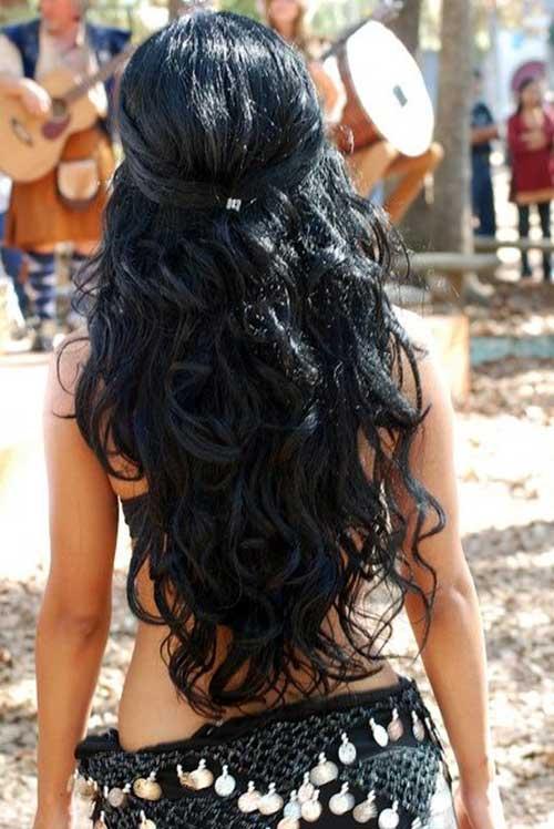 10 Peinados De Fiesta Simple Para Cabello Largo Largo Peinados