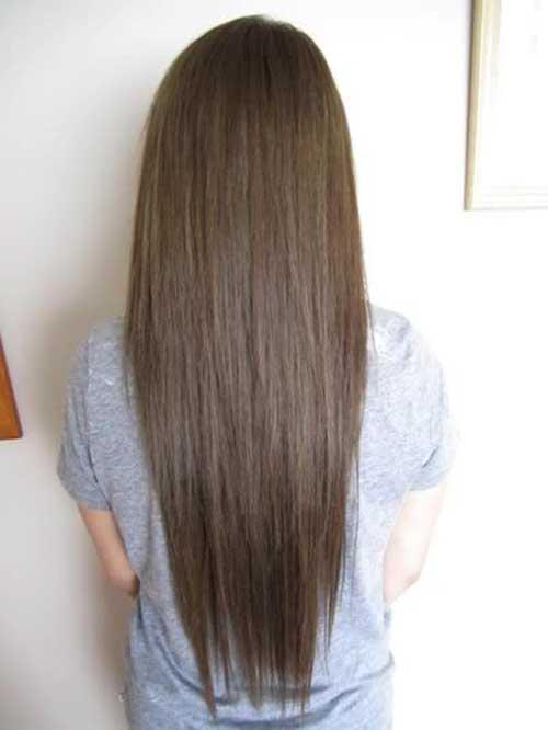 M 225 S De 25 Largos Peinados De Color Marr 243 N Oscuro 187 Largo