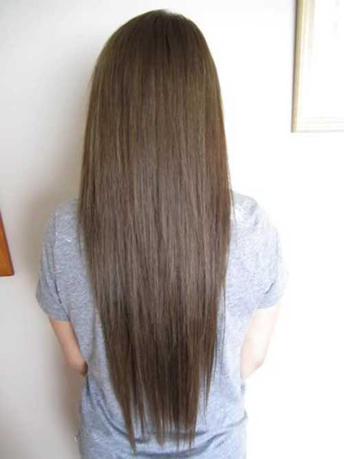 Peinados largos marrones oscuros-12