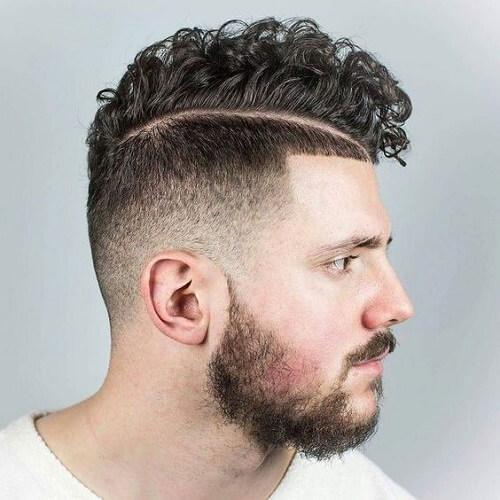 Peinado rizado original