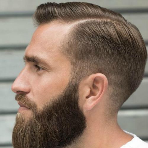 50 encantadores peinados con espalda lisa para hombres