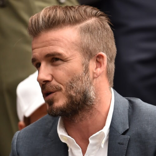 Hard Part David Beckham Peinados