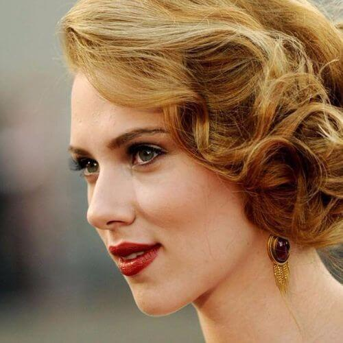scarlett johansson strawberry blonde haor