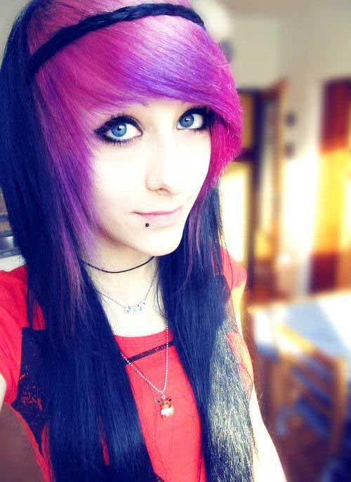 Punk Long Hairstyles-12