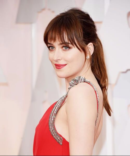 dakota johnson prom updos