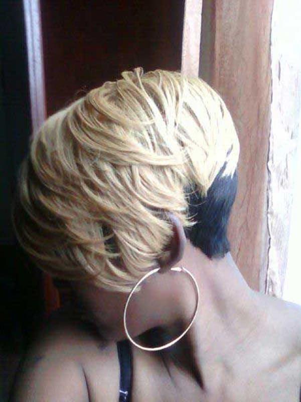 peinados cortos para mujeres negras 30