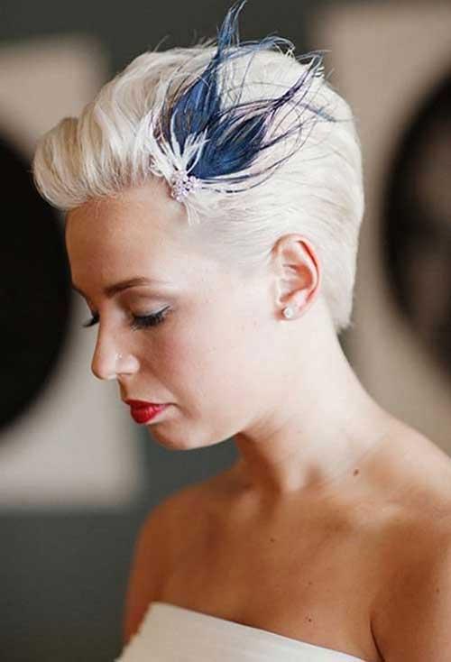 Los mejores peinados de novias Pixie
