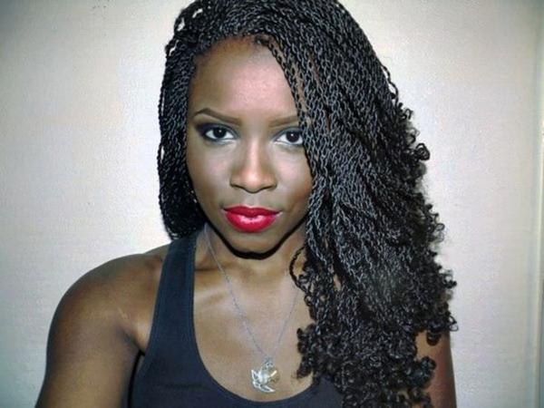 Peinados trenzados para mujeres negras 2014 updo cola de caballo