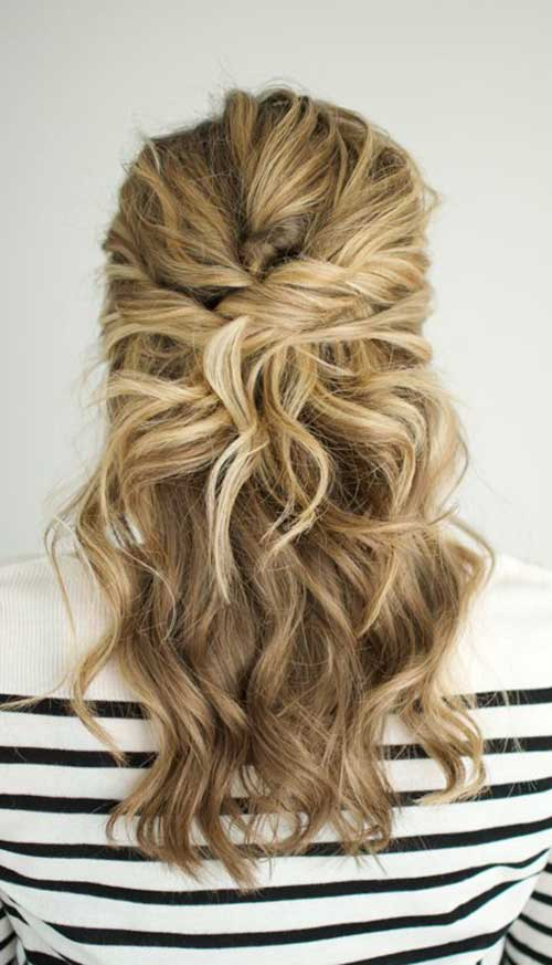 Estilos largos de cabello mediano-25