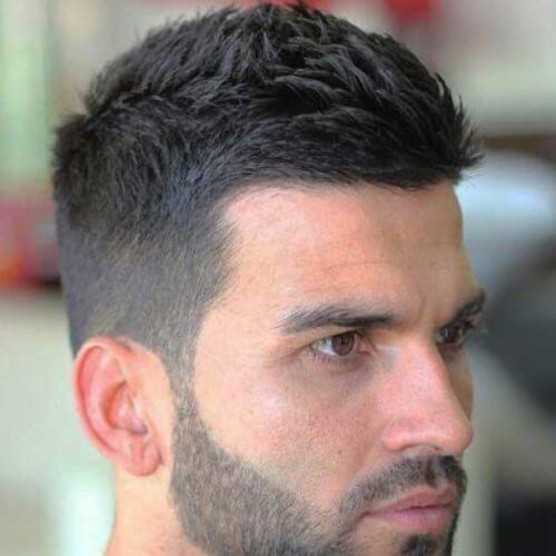 Peinados para hombres con cabello grueso y grueso