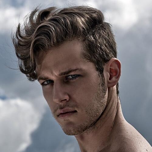 Peinados ondulados para hombres