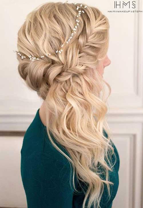 Estilos de cabello de la boda para cabello largo-10