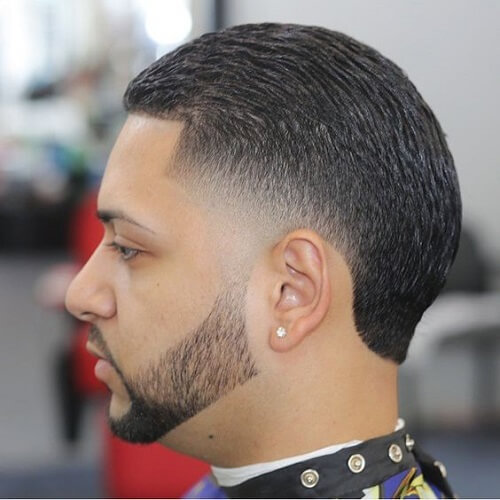 Slicked Back Fade Fade