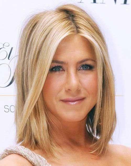 Estilos de cabello mediano de Jennifer Aniston