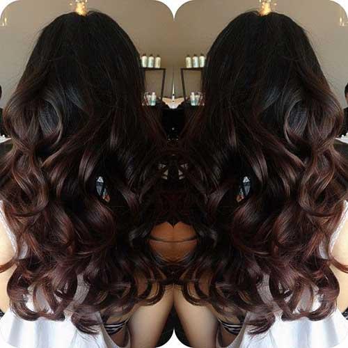 Peinados largos marrones oscuros-6