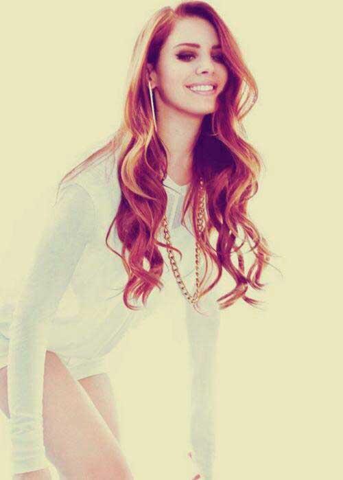 Peinado Lana del Rey