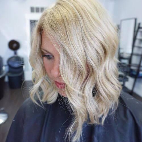bob haircut hairstyle ondulado para el cabello fino