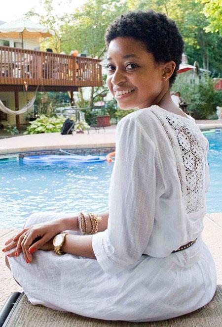 Cortes de pelo cortos para mujer negra - 10