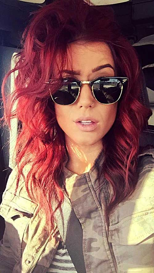 Hair Red Color-14