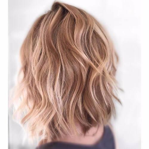 reflejos rubios platino en cabello rubio