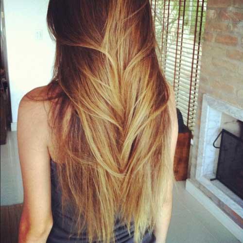 Peinados rectos