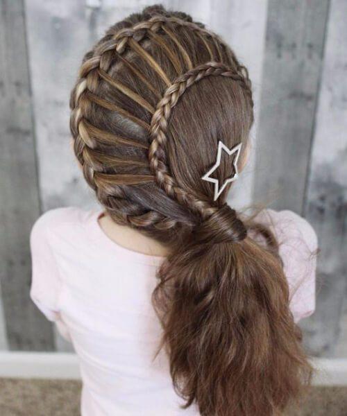estrella peinados niña pequeños