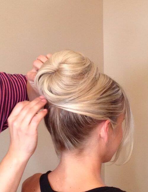 Audrey hepburn style peinados de dama de honor