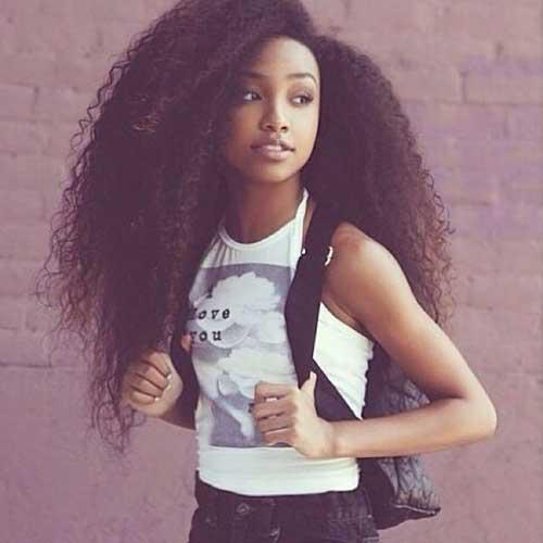 Peinados para niñas negras con cabello largo-23