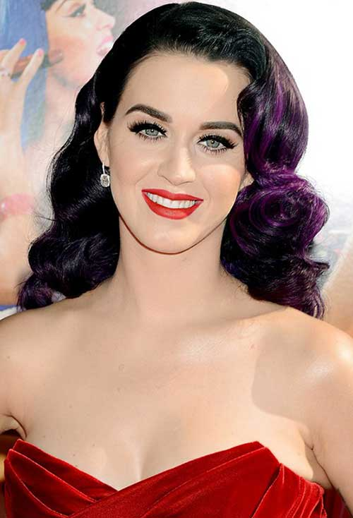 Katy Perry Lovely Hairstyle