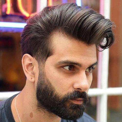 Cortes de cabello Pompadour