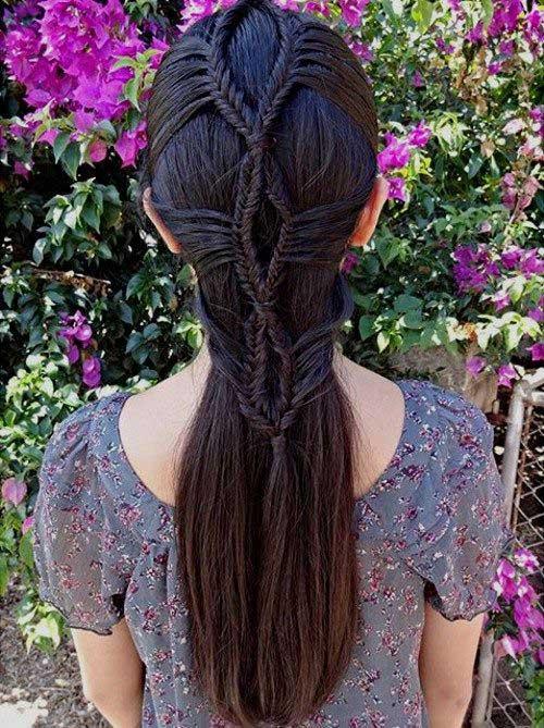 Awesome Trenzado Peinados-14