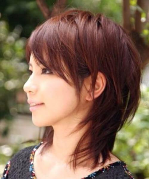 Peinados rectos de capas medias para cabello fino