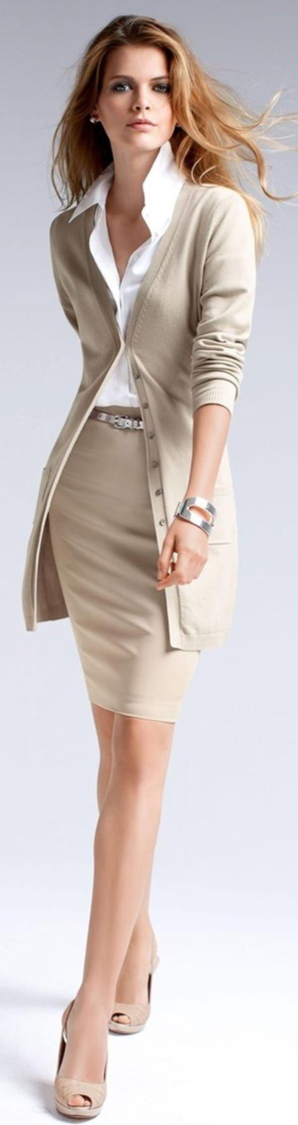 trajes de falda lápiz 33