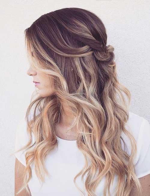 Ideas de color de pelo rubio marrón