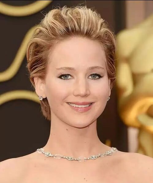 jennifer lawrence corte largo duendecillo
