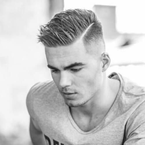Corte de pelo duro pelado