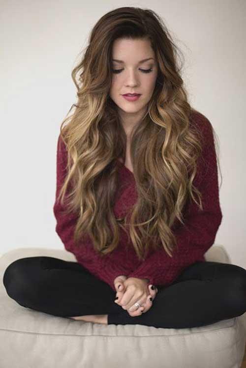 Peinados ondulados largos-11