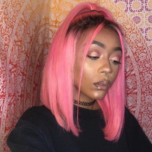 Peinados de los años 90 para el pelo lacio
