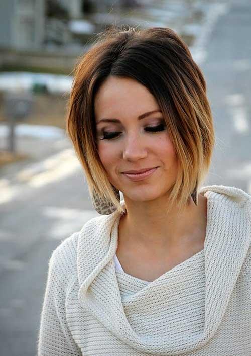 El mejor pelo corto de las mujeres Ombre