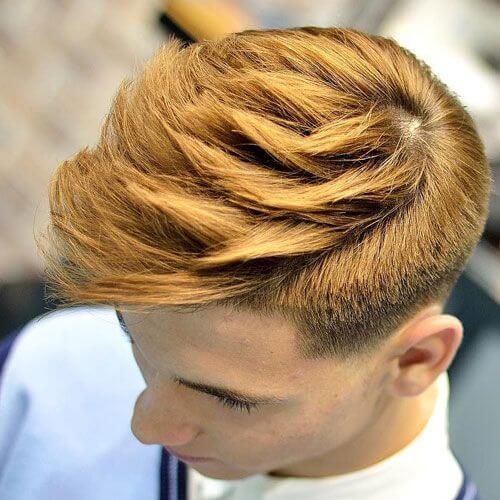 Peinados adolescentes coloreados