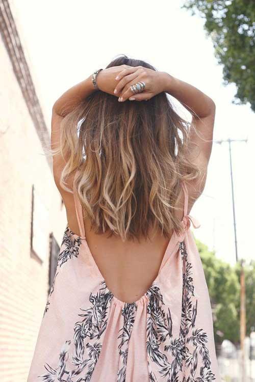 El pelo largo medio más lindo para niñas 2014-2018