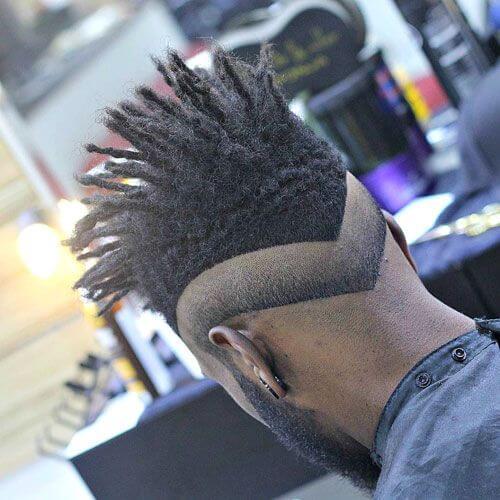 Cortes de pelo dobles con desvanecimiento inverso
